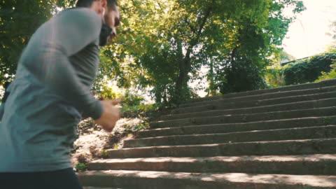 keeping my body in a good shape. - beard stock videos & royalty-free footage