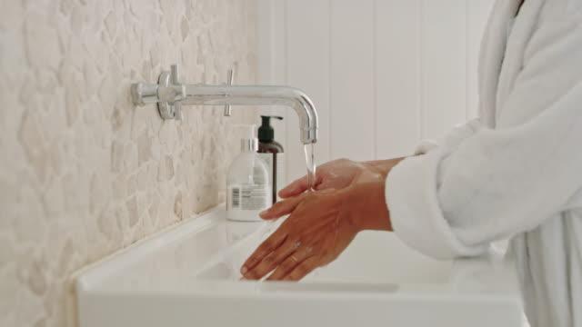 keeping my hands clean - sink stock videos & royalty-free footage