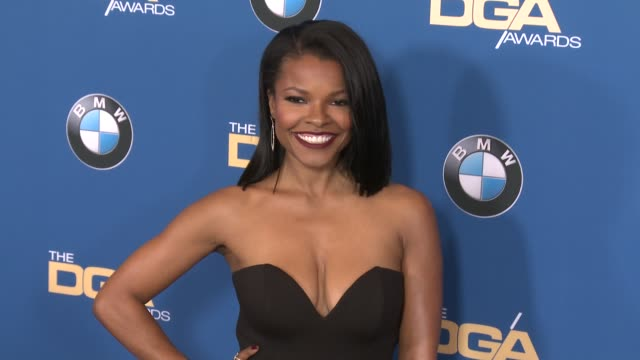 keesha sharp at 69th annual directors guild of america awards in los angeles, ca 2/4/17 - director's guild of america stock videos & royalty-free footage