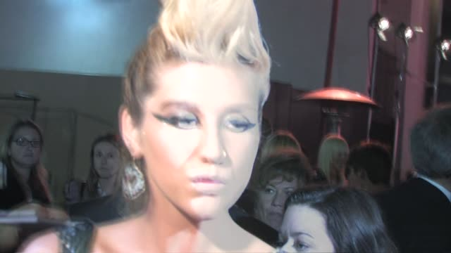 ke$ha at us weekly's hot hollywood stars who care event in hollywood at the celebrity sightings in los angeles at los angeles ca. - us weekly stock videos & royalty-free footage