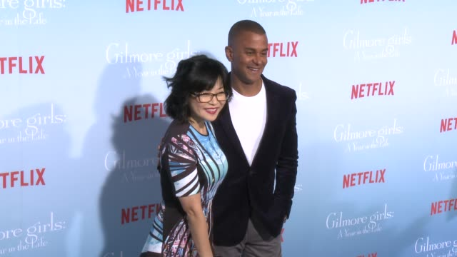 Keiko Agena at the Premiere of Netflix's Gilmore Girls A Year In The Life at Regency Bruin Theater on November 18 2016 in Westwood California