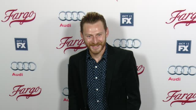 keir o'donnell at fx's fargo los angeles premiere at arclight cinemas on october 07 2015 in hollywood california - arclight cinemas hollywood stock-videos und b-roll-filmmaterial