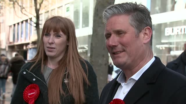keir starmer carries out limited reshuffle of shadow cabinet; england: london: ext sir keir starmer mp along from house ignoring question about... - channel 4 news stock videos & royalty-free footage