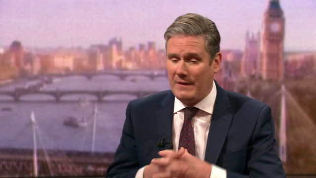 keir starmer explaining the reasons he felt labour lost the 2019 general election - loss stock videos & royalty-free footage