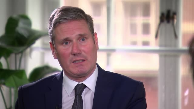 keir starmer interview; england: london: westminster: keir starmer interview sot -tax system doing the job it should? not as it currently is. four... - debt stock videos & royalty-free footage