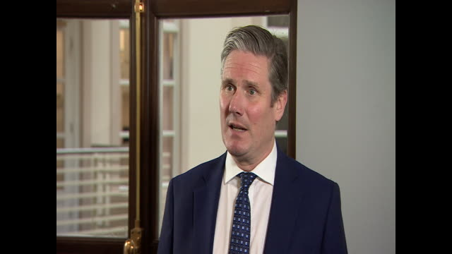 keir starmer saying boris johnson's coronavirus announcement message raises as many questions as answers - punctuation mark stock videos & royalty-free footage