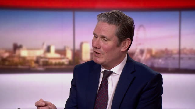 keir starmer saying he will have a balanced shadow cabinet - shadow stock videos & royalty-free footage