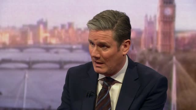 keir starmer saying it is incredible how much theresa may has lost control - awe stock videos & royalty-free footage