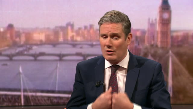 keir starmer saying labour did not do enough to destroy the conservatives 'get brexit done' slogan during the 2019 general election - loss stock videos & royalty-free footage
