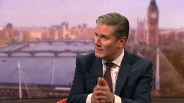 keir starmer saying labour should not throw away all of jeremy corbyn's policies and that corbyn was right on many things - loss stock videos & royalty-free footage