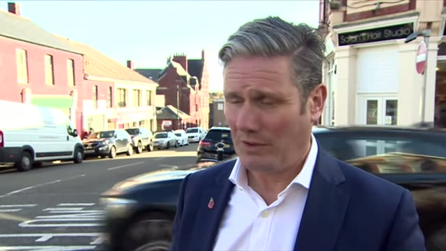 """keir starmer saying labour want scotland to remain in the union and """"are not in this election to do deals with the snp, we are in it to win it"""" - keir starmer stock videos & royalty-free footage"""