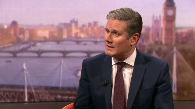 keir starmer saying labour's defeat in the 2019 general election was devastating - loss stock videos & royalty-free footage