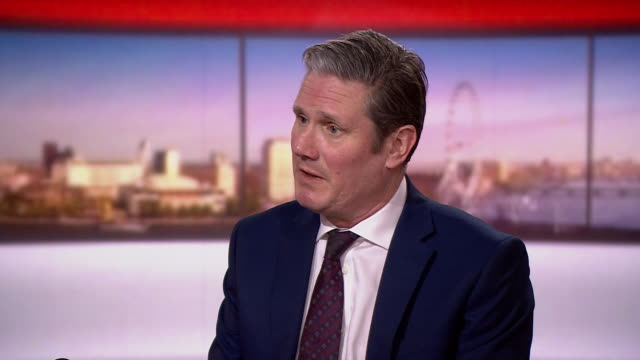 keir starmer saying the government needs to publish its coronavirus lockdown exit strategy - keir starmer stock videos & royalty-free footage