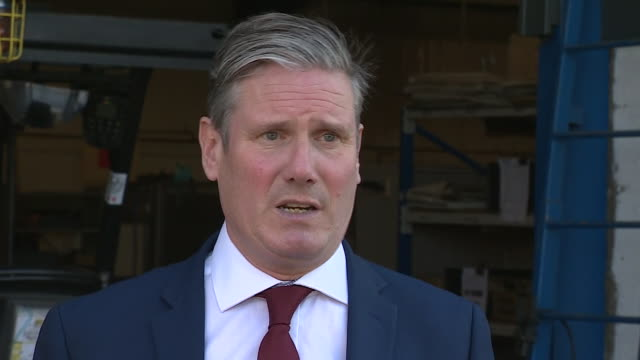 """keir starmer saying the government's decision to delay the easing of certain coronavirus restrictions is """"the right decision, but communication has... - decline stock videos & royalty-free footage"""