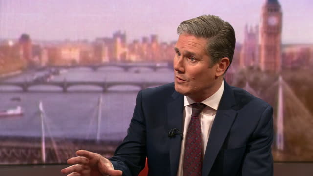"keir starmer saying the uk government are ""blindly following the americans"" - visual impairment stock videos & royalty-free footage"
