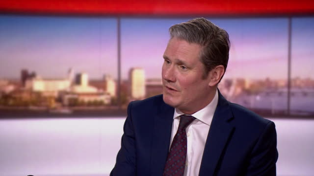 """keir starmer saying """"we have to take whatever steps are necessary"""" to prevent more deaths from coronavirus - keir starmer stock videos & royalty-free footage"""