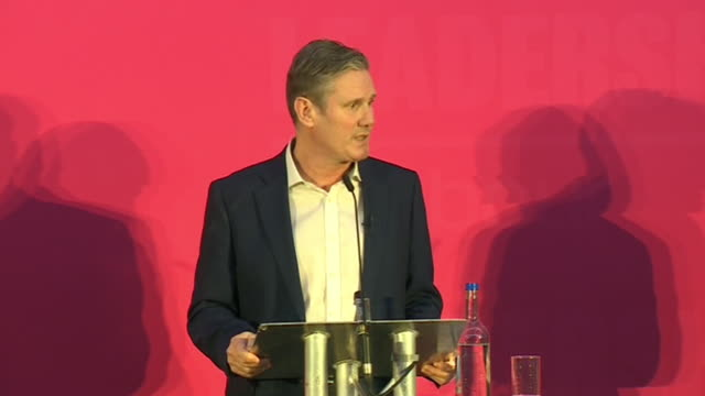 keir starmer saying we need to look forward the leave/remain divide is over - the way forward stock videos & royalty-free footage