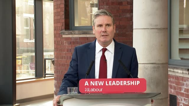 keir starmer speech to 'labour connected' party conference; ** part 1 of 6 ** england: south yorkshire: doncaster: int sir keir starmer mp speech to... - young family stock videos & royalty-free footage