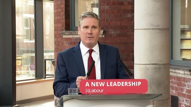 keir starmer speech to 'labour connected' party conference; ** part 2 of 6 ** england: south yorkshire: doncaster: int sir keir starmer mp speech to... - double chance stock videos & royalty-free footage
