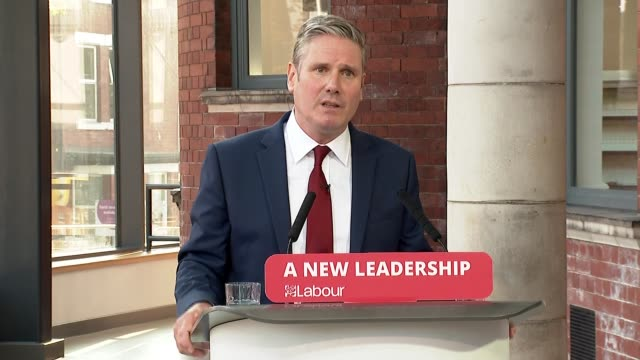 keir starmer speech to 'labour connected' party conference; ** part 5 of 6 ** england: south yorkshire: doncaster: int sir keir starmer mp speech to... - young family stock videos & royalty-free footage