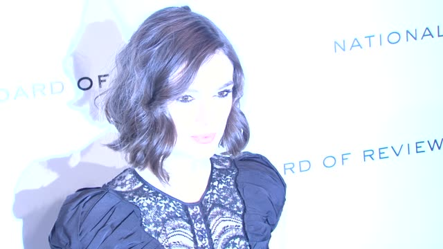 Keira Knightley at National Board of Review Awards Gala Red Carpet at Cipriani 42nd Street on 1/10/2012 in New York City NY