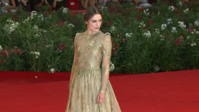 Keira Knightley at the A Dangerous Method Premiere Venice Film Festival 2011 at Venice