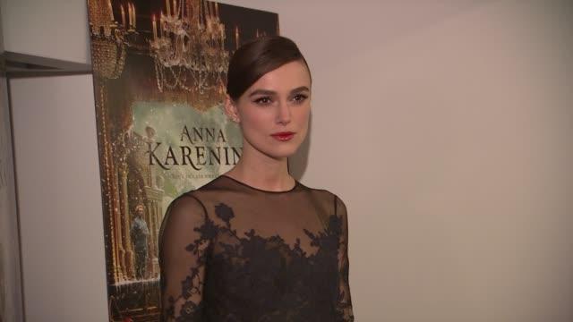 Keira Knightley at the 'Anna Karenina' Special Screening in New York NY on 11/7/12