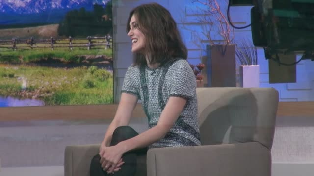 Keira Knightley at the 'Good Morning America' studio in New York NY on 11/8/12