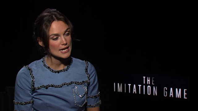 INTERVIEW Keira Knightley at the junket of The Imitation Game at Toronto Film Festival ON on Sept 10 2014