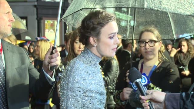 GBR: 'Colette' UK Premiere - 62nd BFI London Film Festival