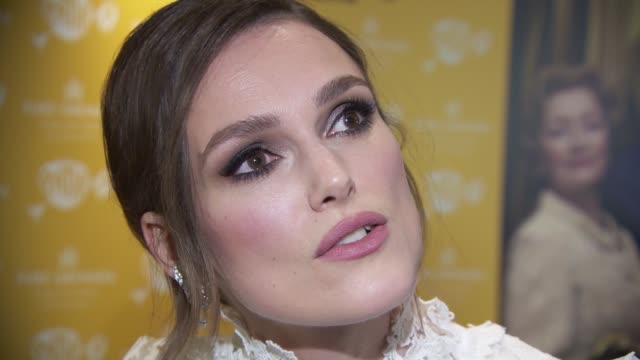 keira knightley on what it was about the script that lured her into wanting to star in the film, how popular and demeaning miss world was in the... - miss world pageant stock videos & royalty-free footage