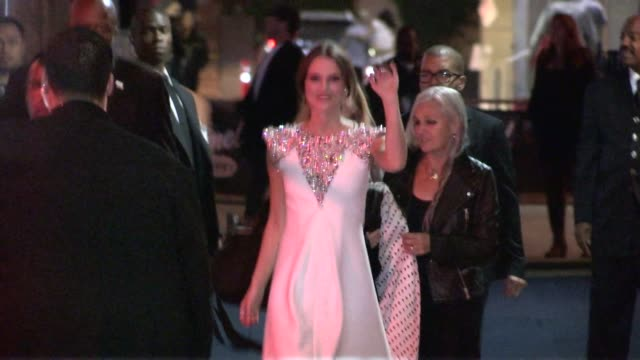 Keira Knightley Sharman Macdonald greet fans at the Jimmy Kimmel Studio in Hollywood in Celebrity Sightings in Los Angeles