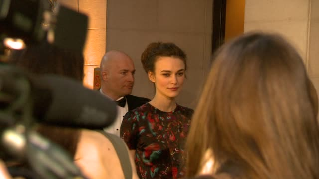 Keira Knightly Rachel Weisz at the 2010 Laurence Olivier Awards at London England