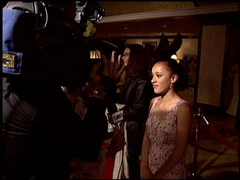 keisha castle-hughes at the 2004 writers guild awards at the century plaza hotel in century city, california on february 21, 2004. - century plaza stock videos & royalty-free footage