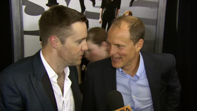 """keith barry and woody harrelson at """"now you see me"""" new york premiere presented by summit entertainment at amc lincoln square theater on may 21, 2013... - woody harrelson stock videos & royalty-free footage"""