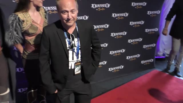 keith coogan at the celebrity premiere of cavalia odysseo under the white big top on november 11 2017 in camarillo california - camarillo stock videos & royalty-free footage