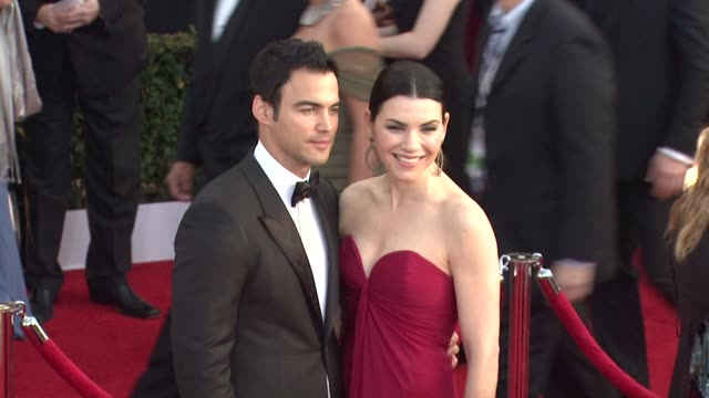 keith lieberthal and julianna margulies at the 17th annual screen actors guild awards arrivals at los angeles ca - julianna margulies stock videos and b-roll footage