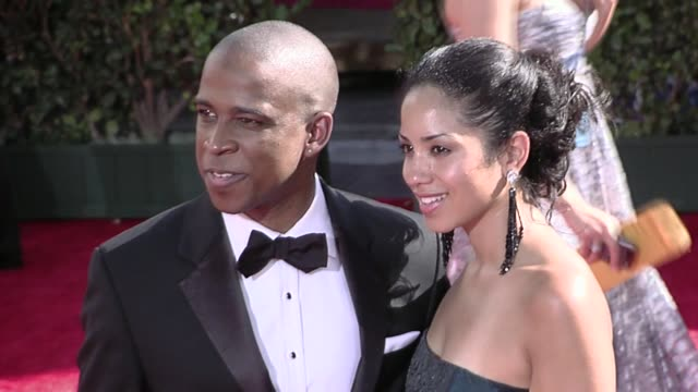 keith powell at the 61st annual primetime emmy awards arrivals part 3 at los angeles ca - annual primetime emmy awards stock-videos und b-roll-filmmaterial