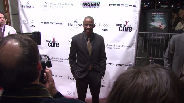 keith powell at the stand up for a cure - a concert to benefit memorial sloan-kettering cancer center at the hammerstein ballroom in new york, new... - benefit concert stock videos & royalty-free footage