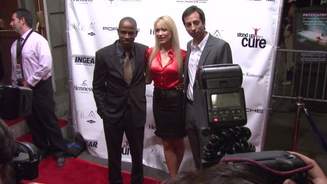 keith powell katrina bowden and lonny ross at the stand up for a cure a concert to benefit memorial sloankettering cancer center at the hammerstein... - katrina bowden stock videos and b-roll footage