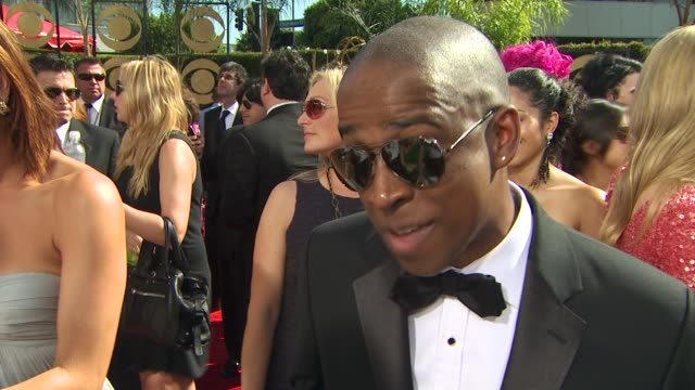 keith powell on his show's nomination. at the 61st annual primetime emmy awards - arrivals at los angeles ca. - annual primetime emmy awards stock videos & royalty-free footage