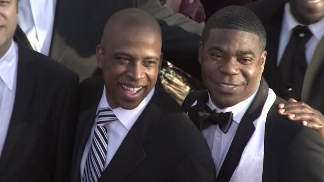 Keith Powell Tracy Morgan at the 15th Annual Screen Actors Guild Awards Part 2 at Los Angeles CA