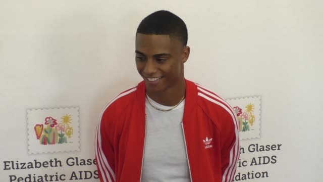 Keith Powers at the Elizabeth Glaser Pediatric AIDS Foundation 26th Annual A Time For Heroes Family Festival at Smashbox Studios in Culver City...