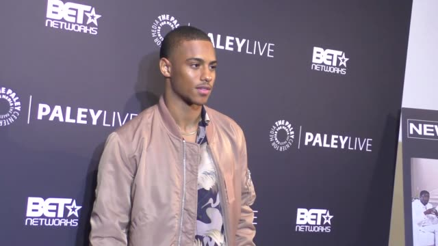 Keith Powers at the Paley Center For Media Presents Premiere Of BET's 'The New Edition Story' on December 14 2016 in Beverly Hills California