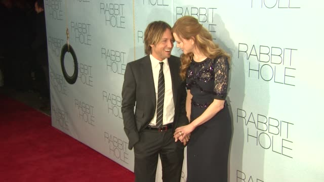 Keith Urban and Nicole Kidman at the 'Rabbit Hole' New York Premiere at New York NY