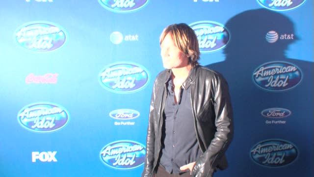 keith urban at american idol' season 12 premiere 1/9/2013 in westwood ca - american idol stock videos and b-roll footage