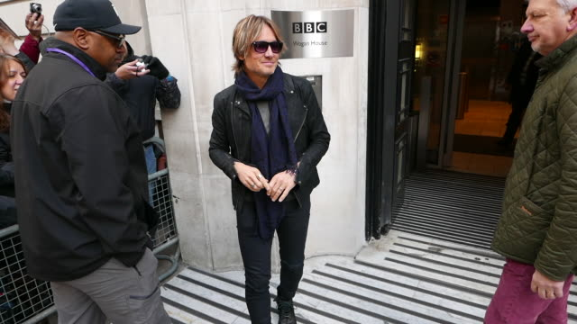 keith urban at bbc radio 2 at celebrity sightings in london on march 08, 2019 in london, england. - keith urban stock videos & royalty-free footage