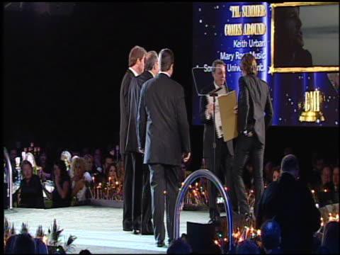 keith urban at the 59th annual bmi country awards at nashville tn. - keith urban stock videos & royalty-free footage