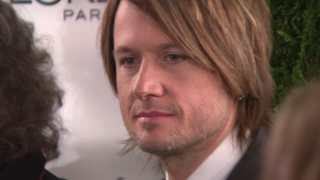 keith urban at the glamour magazine honors the 2008 women of the year at new york ny. - keith urban stock videos & royalty-free footage