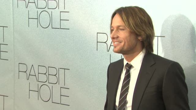 keith urban at the 'rabbit hole' new york premiere at new york ny. - keith urban stock videos & royalty-free footage